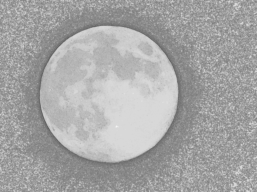 Full Moon Drawing Black And White Moon Drawing Images Reverse Search