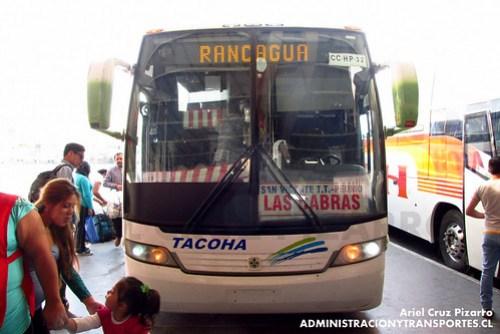 Tacoha - Rancagua - Busscar Vissta Buss LO / Mercedes Benz (CCHP32)