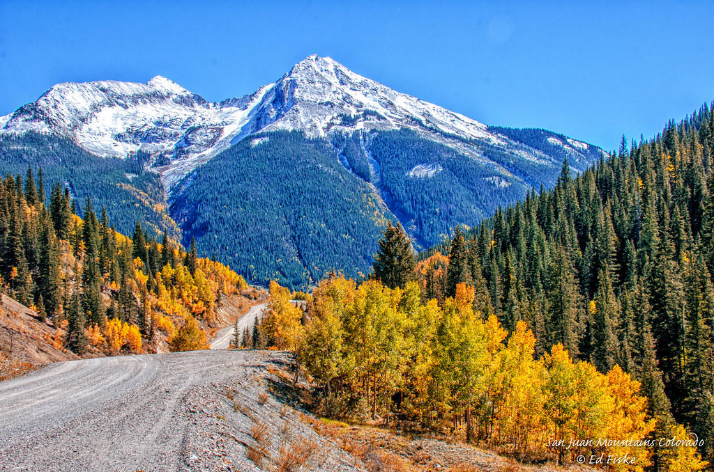 Fall In Colorado Wallpaper Colorado Landscape A Mile From This Site At The Bottom