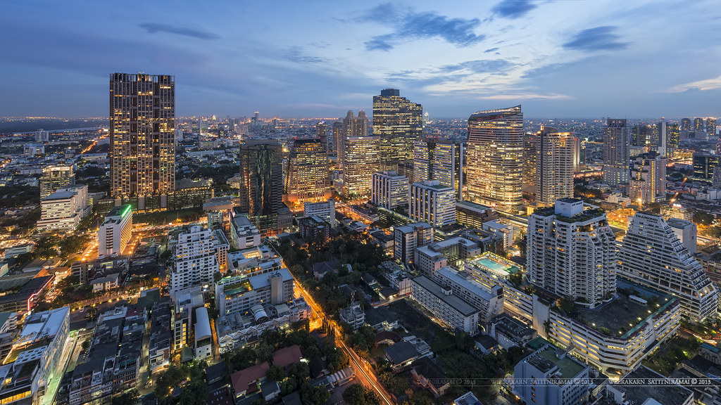 Scenery Wallpaper Hd 3d Bangkok Skyline Bangkok Night View From Quot Cloud47 Quot Bar