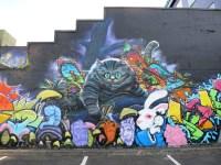 Alice in Wonderland Mural | Cheshire Cat | wiredforlego ...
