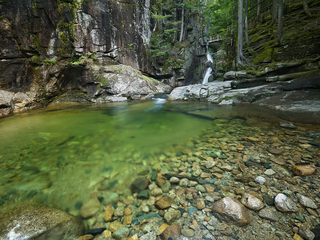 Free Fall Wallpaper 1920x1080 Sabbaday Falls White Mountain National Forest Waterville