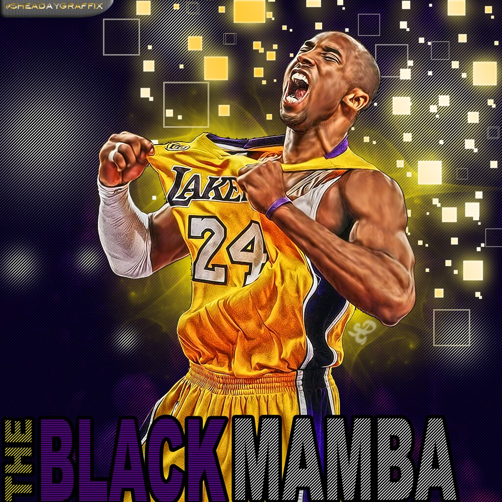 Wallpaper 3d Moving For Mobile Kobe Bryant Photoshop Graphic Flicker Effect When