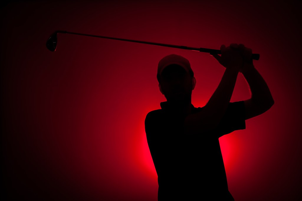 3d Wallpaper Full Hd For Pc Golf Silhouette Strobist Single 600 Ex Rt With A Red