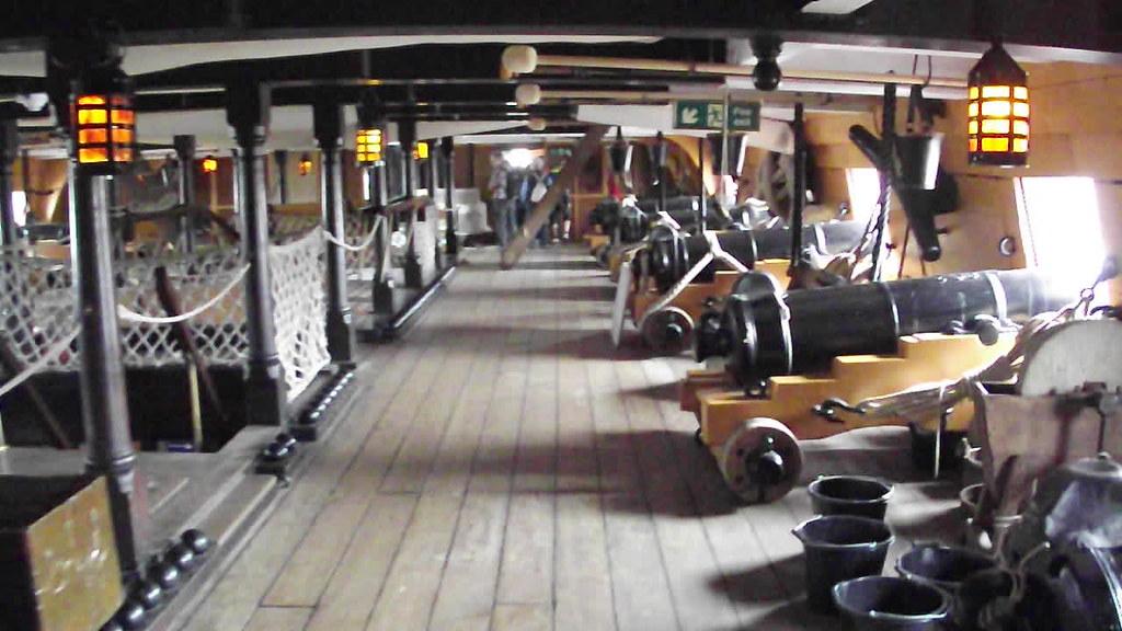 England Wallpaper Hd Hms Victory Portsmouth Historic Dockyard Upper Gun Dec