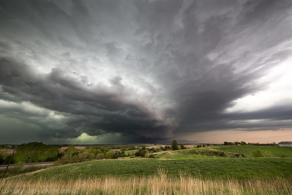 Wallpaper Hp 3d Scary Clouds North Of Lincoln May 11 2014 In Eastern Ne