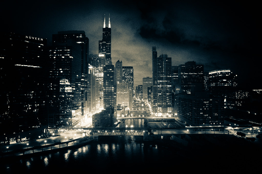 Fall Hd Wallpapers 1080p Widescreen Chicago River At Night Chris Smith Flickr