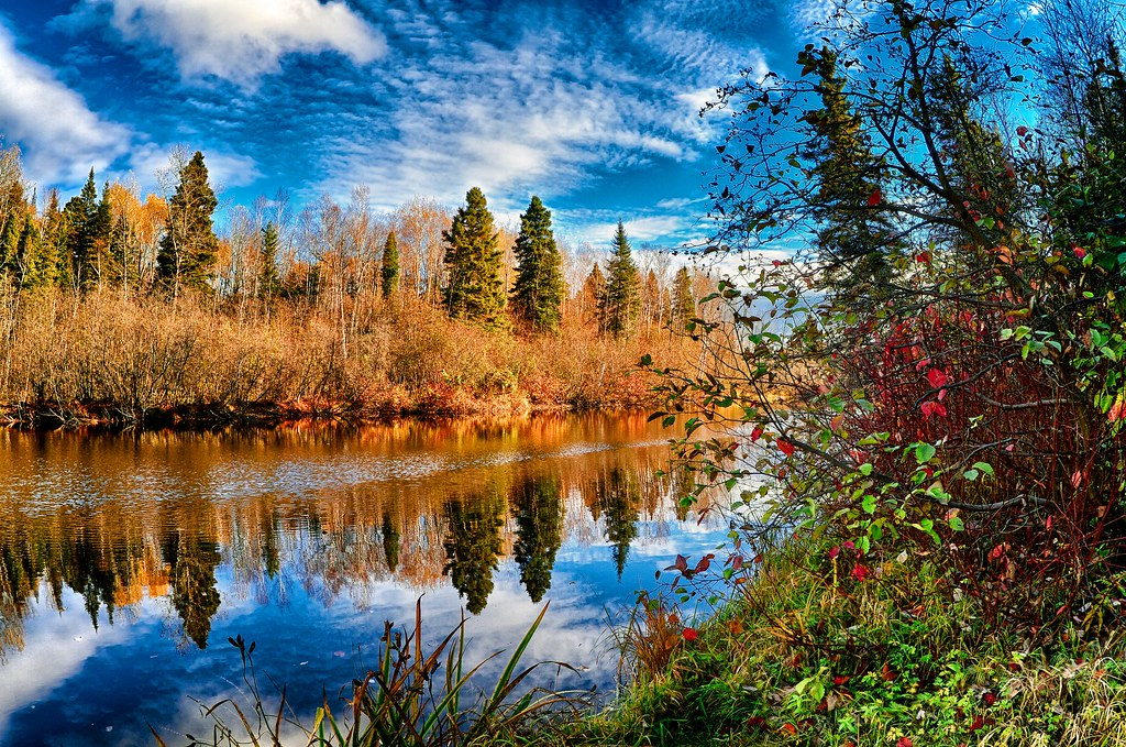 3d River Wallpaper Rivi 232 Re Langevin En Octobre Normand Gaudreault Flickr