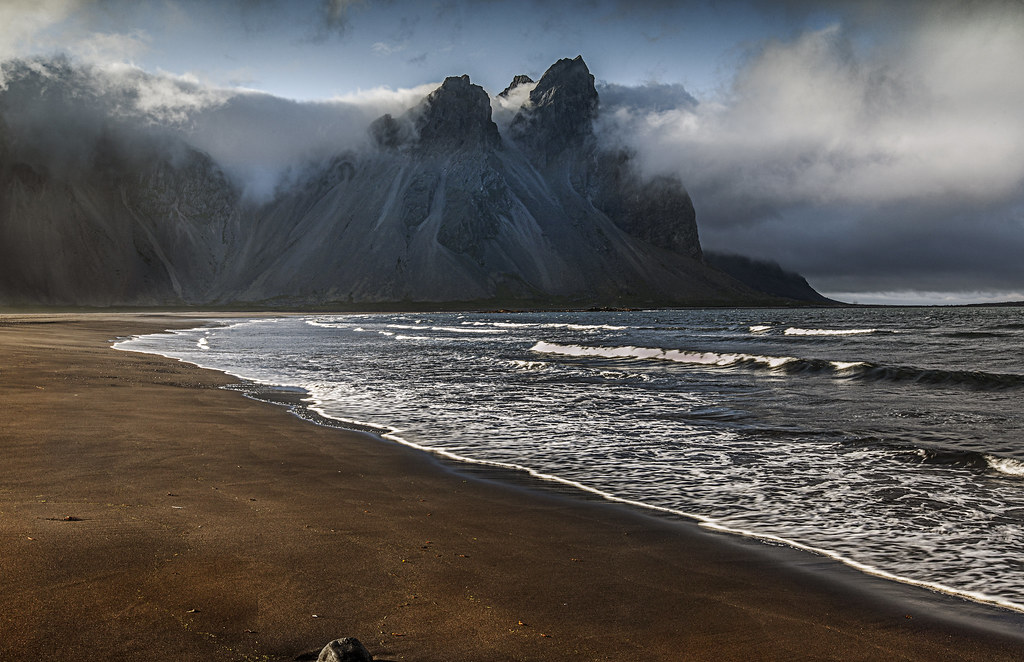 Army 3d Wallpaper Evening At Stokksnes Iceland One Of The First