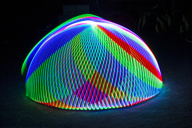 Led Dome Light Install Led - Light Painting Tools / Toys - Bars, Balls And More