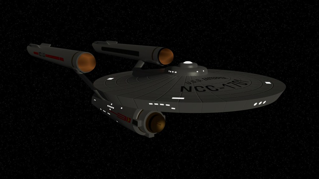 Create Animated Wallpaper Star Trek Uss Enterprise Ncc 1701 A Simpler Model Than