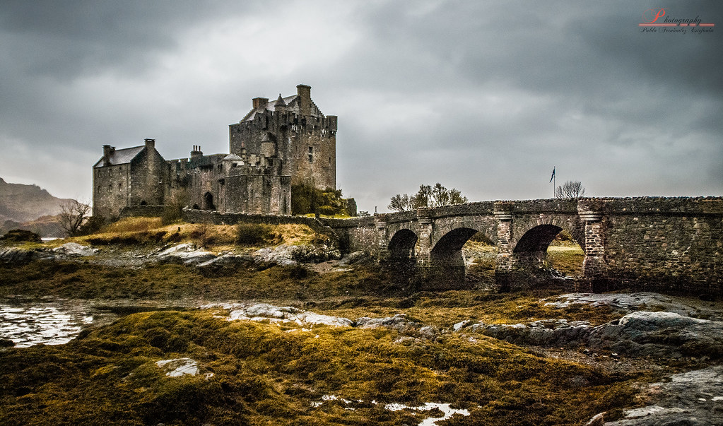 3d Animation Wallpaper For Pc Eilean Donan Castle Camara Camera Nikon D80 Objetivo