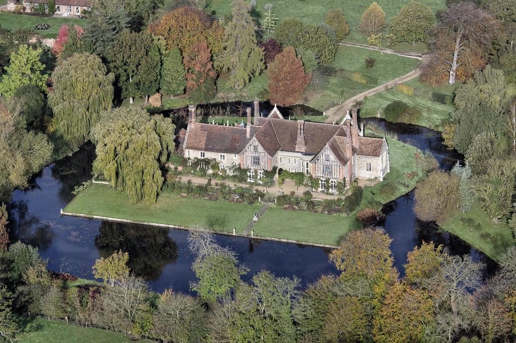 3d Wallpaper Uk Elsing Hall Norfolk Moated Manor House Built In 1470