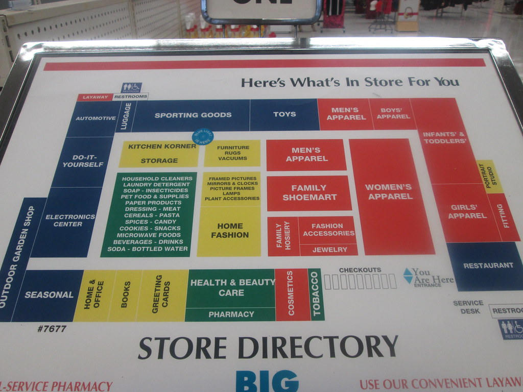 Kmart World Map Puns Of The Store One Of The Few Maps Of The Store I 39ve