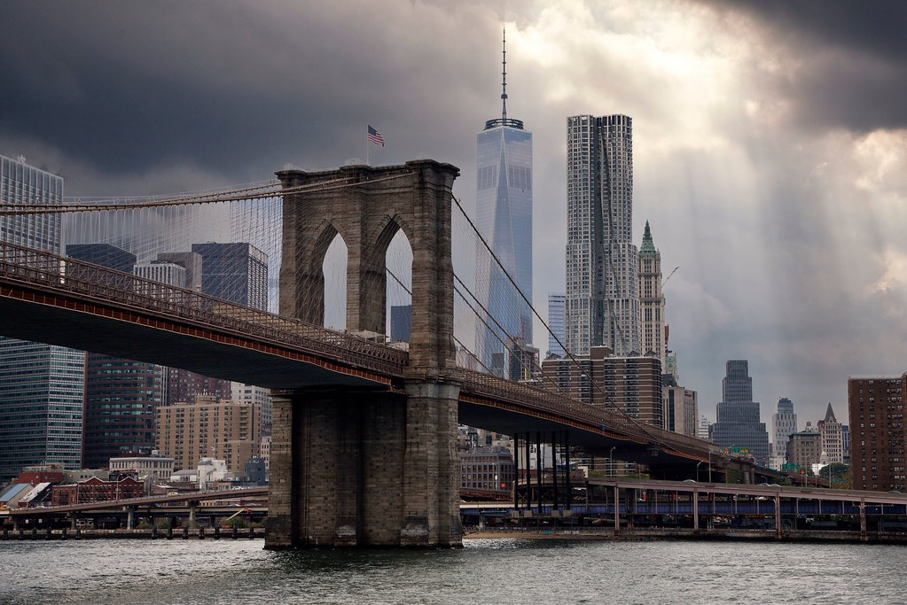 London Hd Wallpaper Iphone 6 Downtown Manhattan Newyork Brooklynbridge Before The Ra