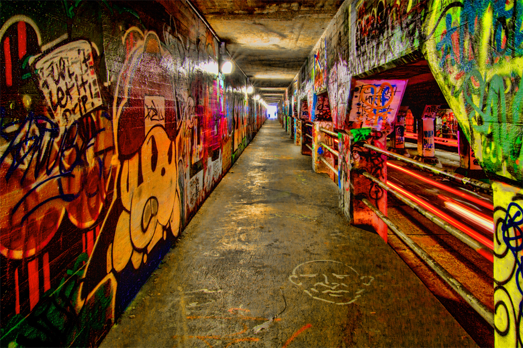 Graffiti Wallpaper 3d Hd Krog Street Tunnel Photo Taken In The Krog Street Tunnel