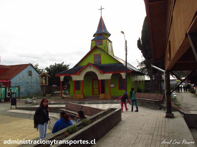 Iglesia Quemchi (Chiloé)