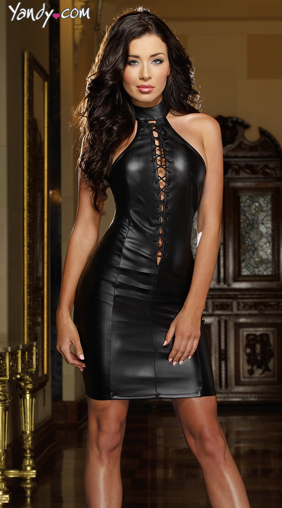 Wallpaper Girls In Latex Leather Dress 001a Monnika Anderss Flickr