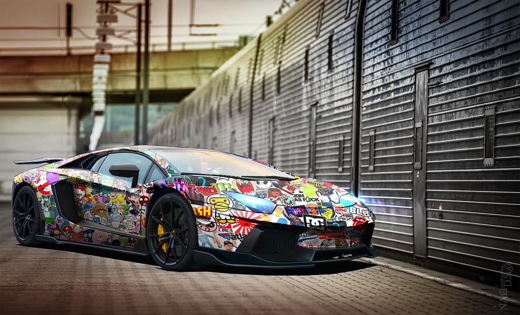 Supreme Car Wallpaper Lamborghini Aventador Bombstick Www Flickr Com Photos