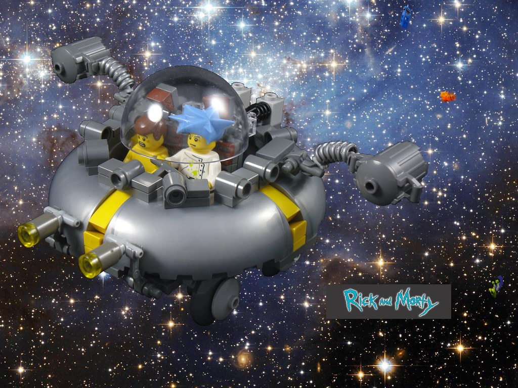 3d Wallpaper Ideas Lego 174 Rick And Morty Wabalabadupdup So Earlier This