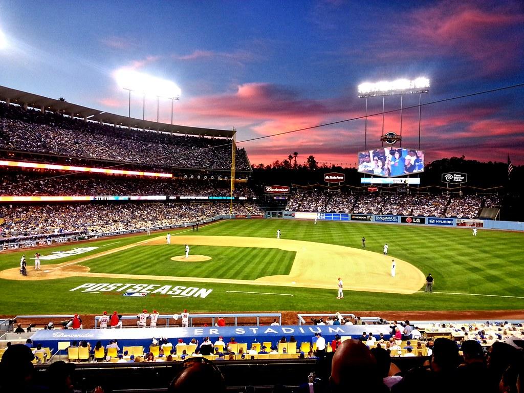Wallpaper Smartphone 3d Dodger Stadium Sunset Explored 10 4 2014 Smartphone Pic
