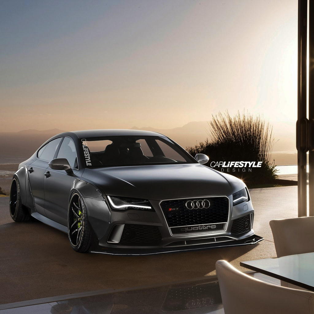 Knight Rider 3d Wallpaper Rs7 Widebody Instagram Carlifestyle Gabe Florido