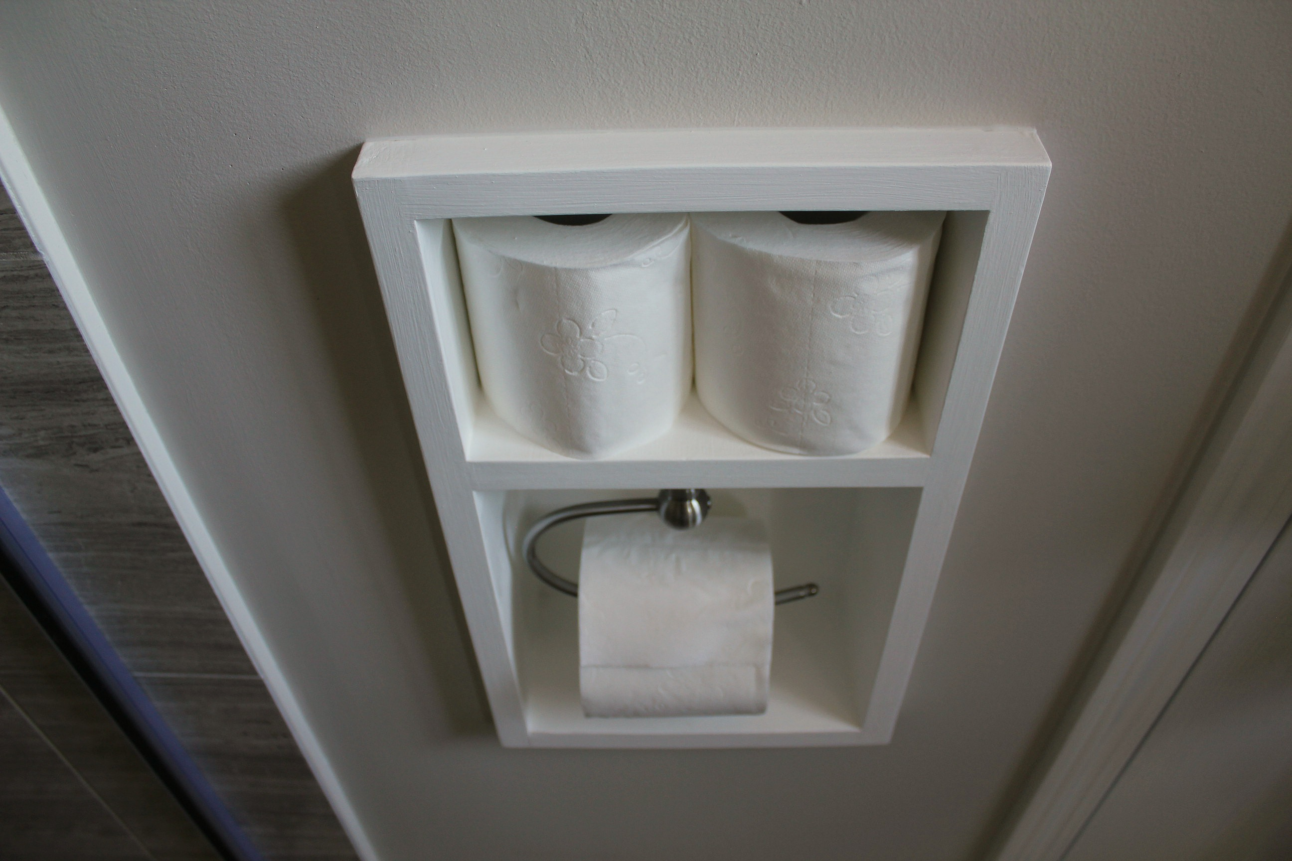 Recessed Toilet Paper Holder For Large Rolls Turtles And Tails Recessed Toilet Paper Holder Aka