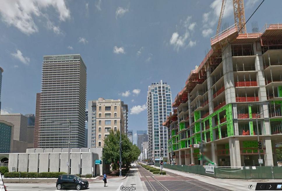 Main Street, Houston, Texas, Google Street View, 11/16/2016