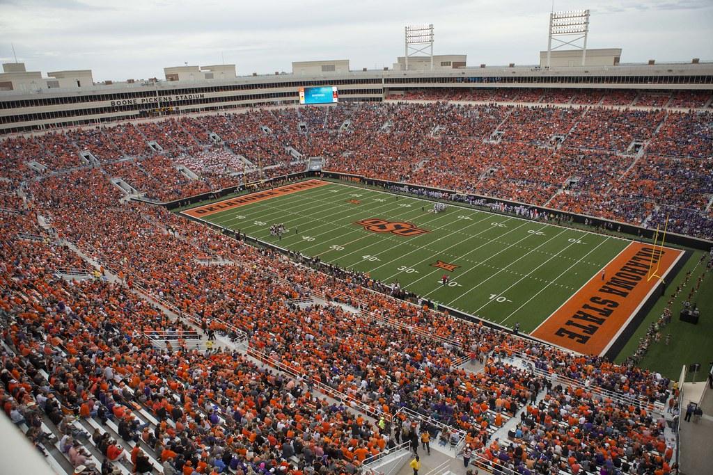 Wallpaper Sioux Falls Oklahoma State Cowboys Vs Kansas State Wildcats Football