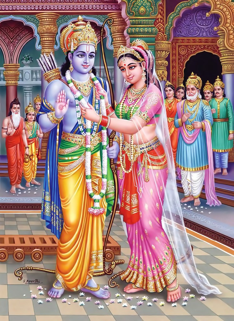 Lord Rama 3d Wallpapers Ram Sita Swayamvara Wedding Of Prince Rama And Princess