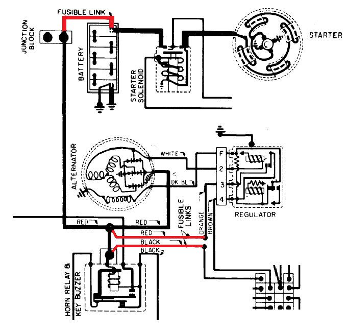 70 chevelle wiring harness junction block diagram