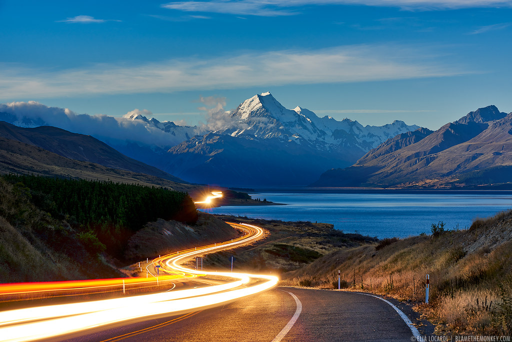 World Best Car Hd Wallpaper 1080p The Road To Mt Cook With Landscape Photography