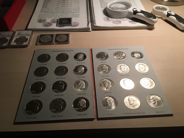 Coin collecting is fun... ;)