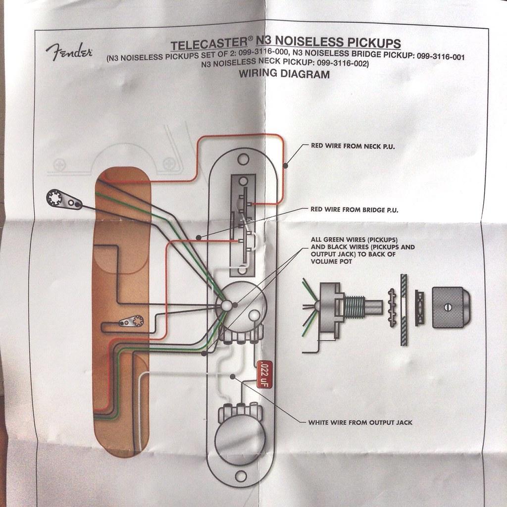 fender n3 wiring diagram
