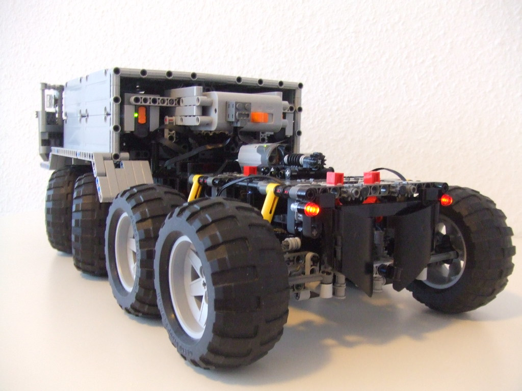 Suspension Or Lego Technic Maz-537 | Rc Lego Technic 8wd Truck With