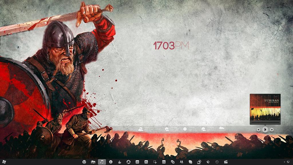 3d Dual Screen Wallpaper Pimp My Desktop Part 17 The Battle Metal Desktop