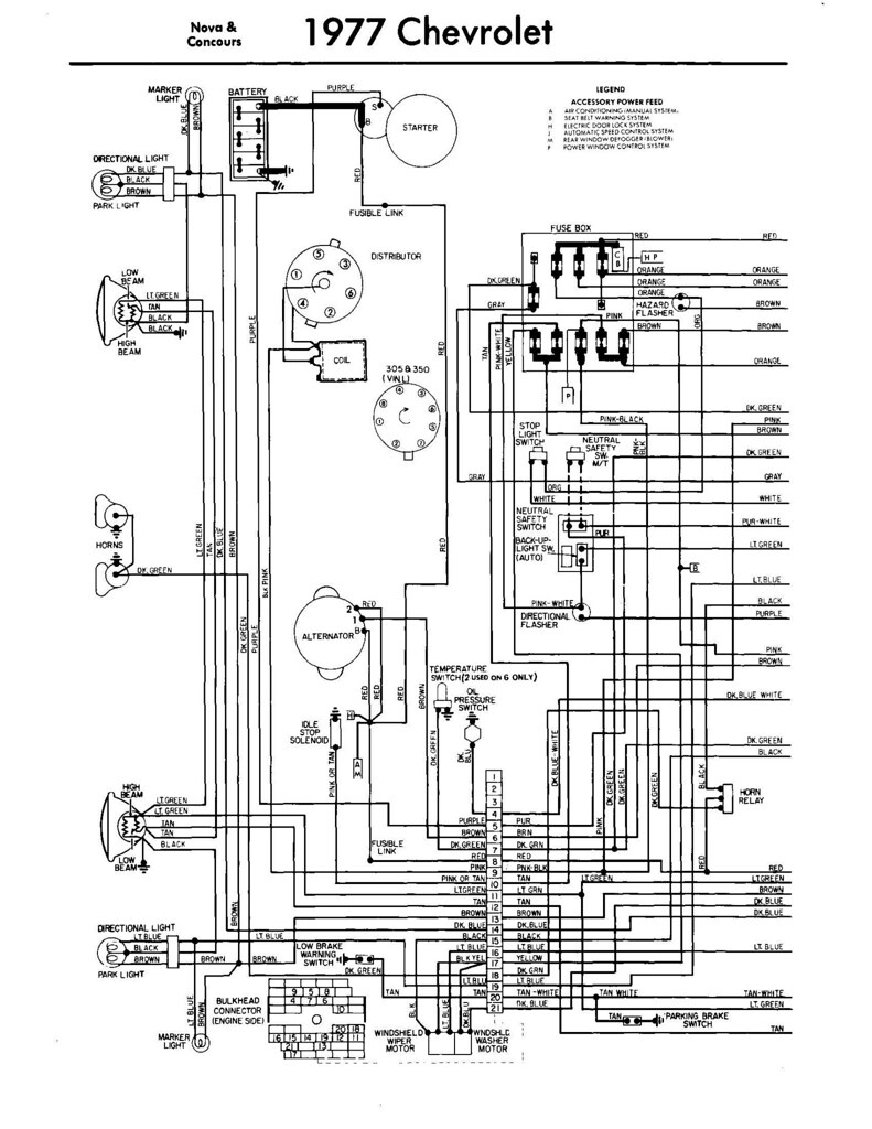 1976 corvette wiring schematic