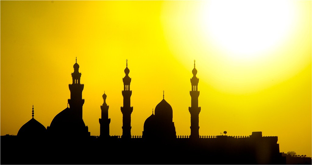 Elegant 3d Desktop Wallpaper Masjid Silhouette Ahmed Hussein Flickr