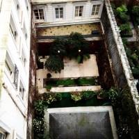 The Zen garden from my balcony #paris12 | Jane Quigley ...