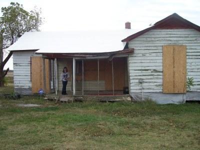 Johnny Cash Boyhood Home | Dyess Colony Arkansas. The home ...