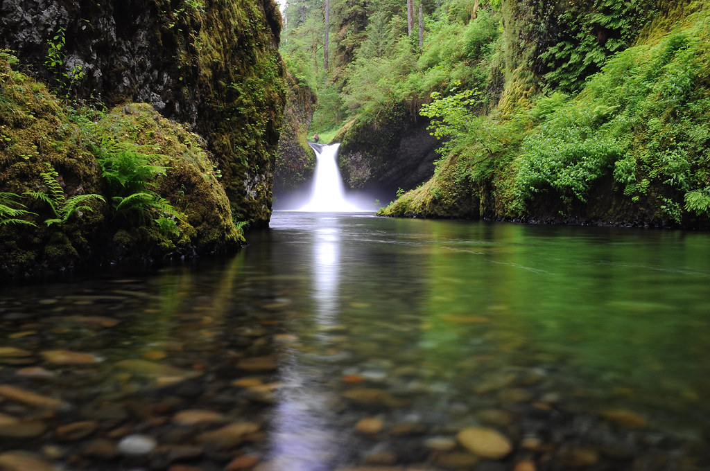 Hogan Clearly Punchbowl Falls | Eagle Creek, Columbia River