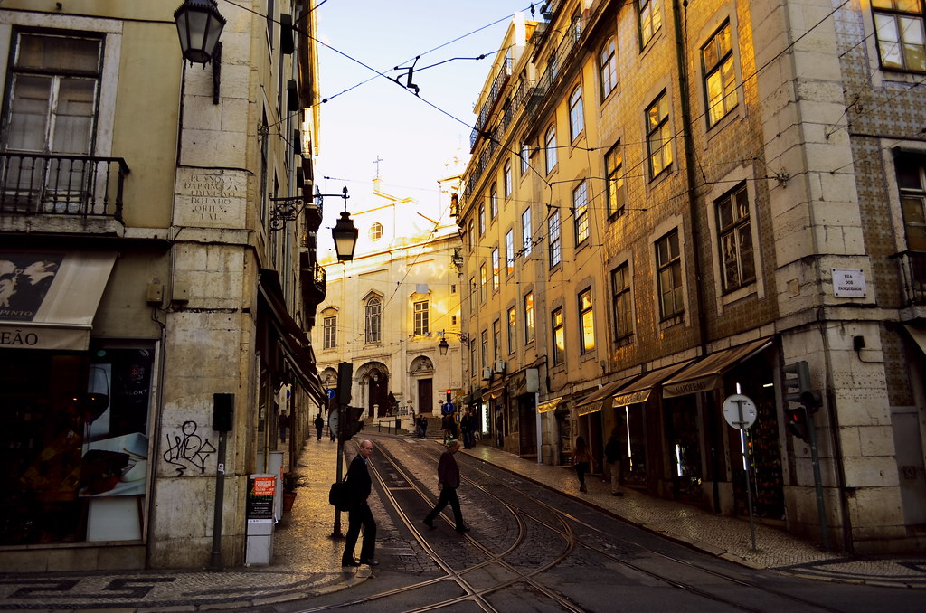3d Colour Wallpaper Lisbon Street Scene Piero Damiani Flickr