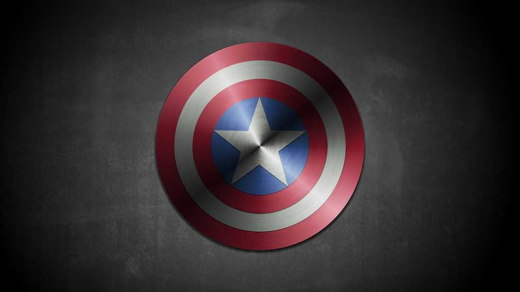 Laptop Wallpaper Hd 3d Scudo Captain America Con Gimp Lo Scudo Di Captain