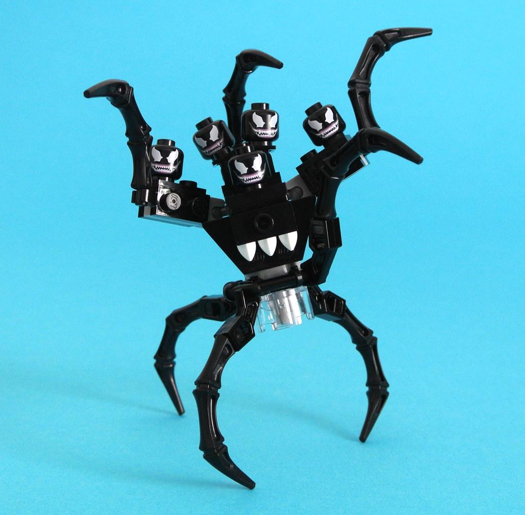 Wallpaper Brick 3d 30448 Spider Man Vs The Venom Symbiote Brickset Flickr