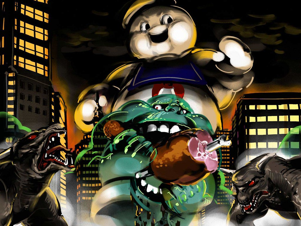 Ps3 Animated Wallpaper Ghostbusters Wallpaper Ghostbusters Ghost Group Slimer