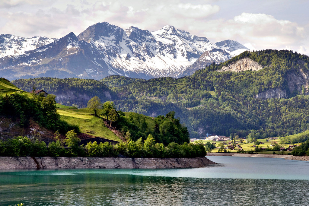 Paisajes Wallpapers Full Hd Swiss Alps Swiss Alps On The Way From Zurich To