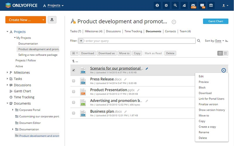 How to set up a self-hosted project management web app on Linux - using access for project management