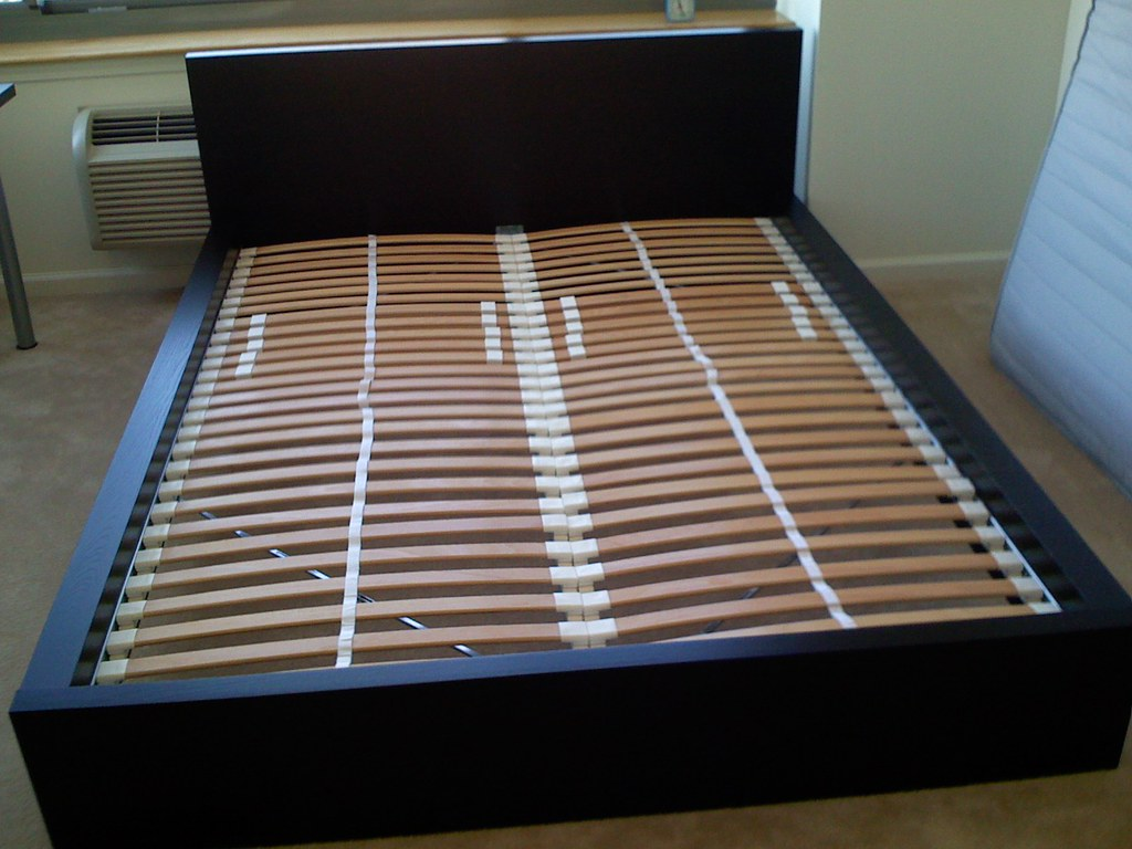 Ikea Bed Slats Beds Bed Frames Ikea Ikea Malm Bed With Sultan Laxbey Slats | Ikea Malm Beds