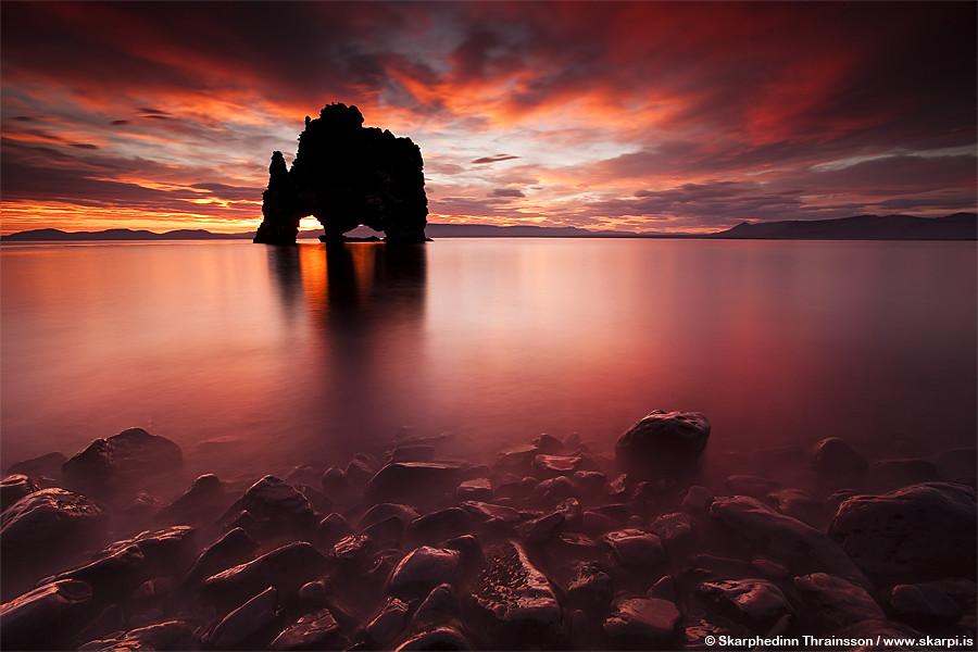 Optical Illusion Wallpaper Hd Hv 237 Tserkur In H 250 Nafl 243 I North Iceland Hv 237 Tserkur Is
