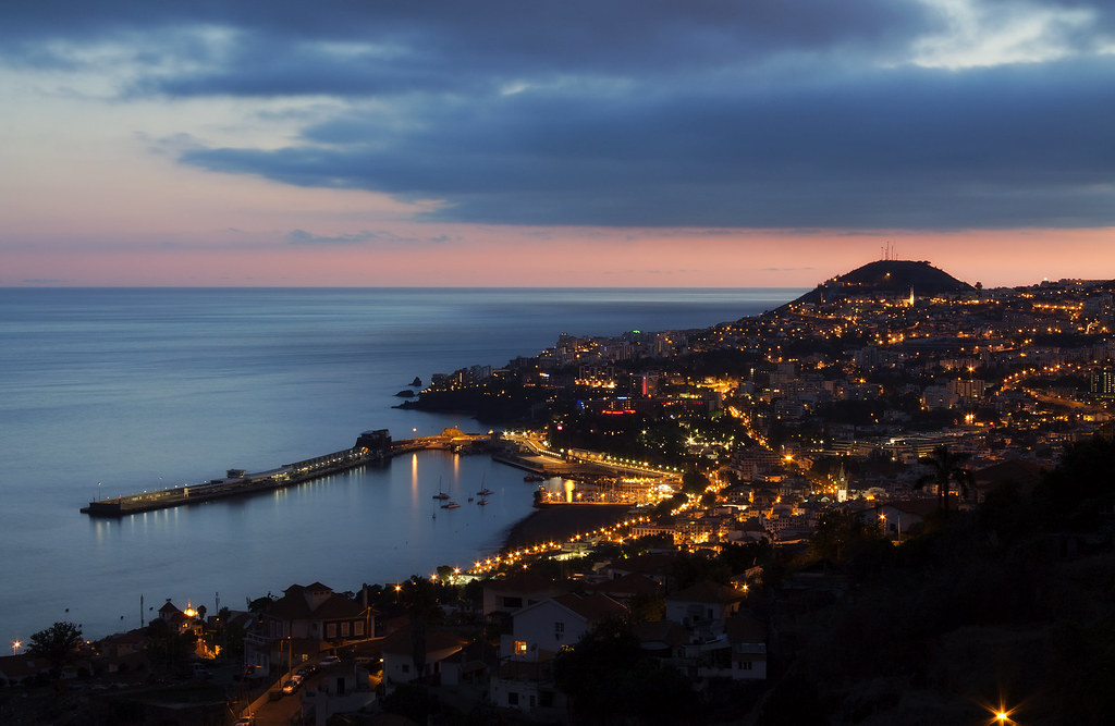Numa Falls Wallpaper Funchal By Night I Was Planning For A While To Make Such